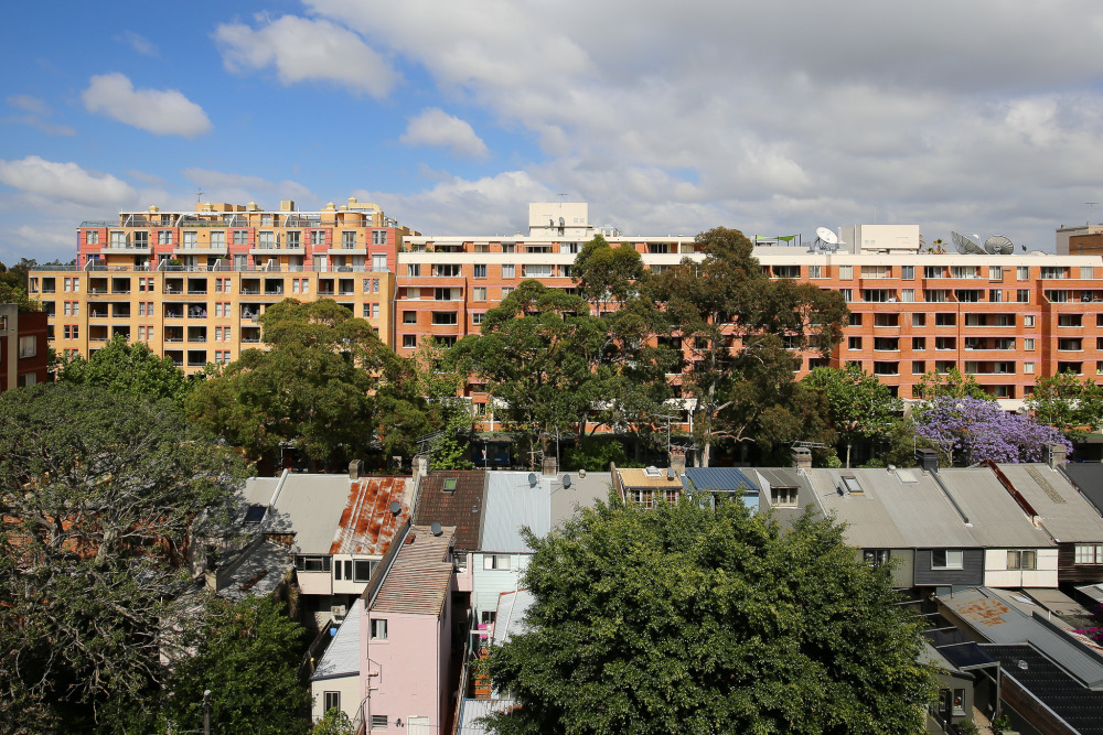 A mix of old and new in Pyrmont