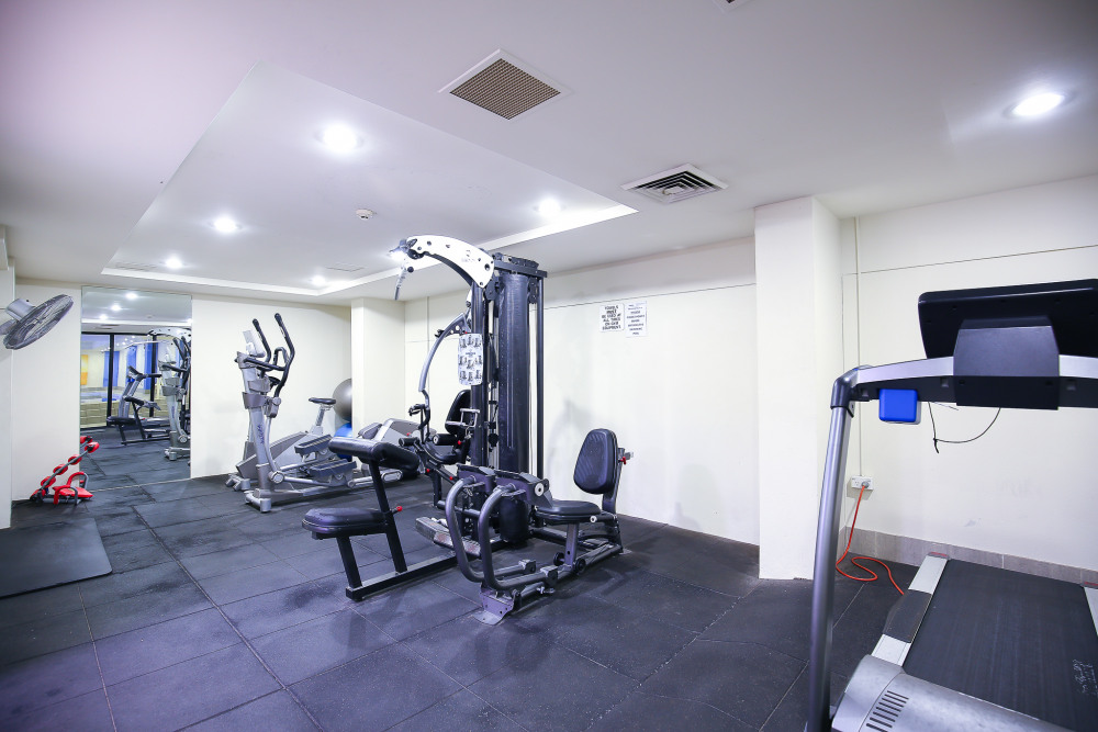 Gym in the complex