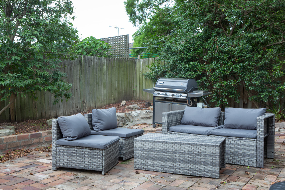 Outdoor Entertaining Area - BBQ Has Been Removed