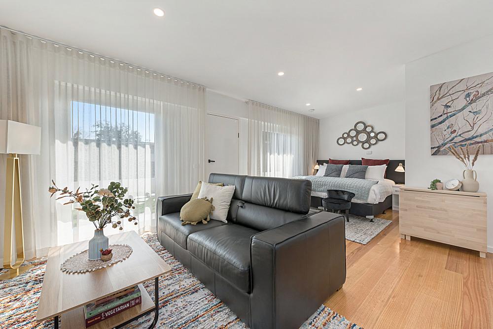 Living Room/Master Bedroom