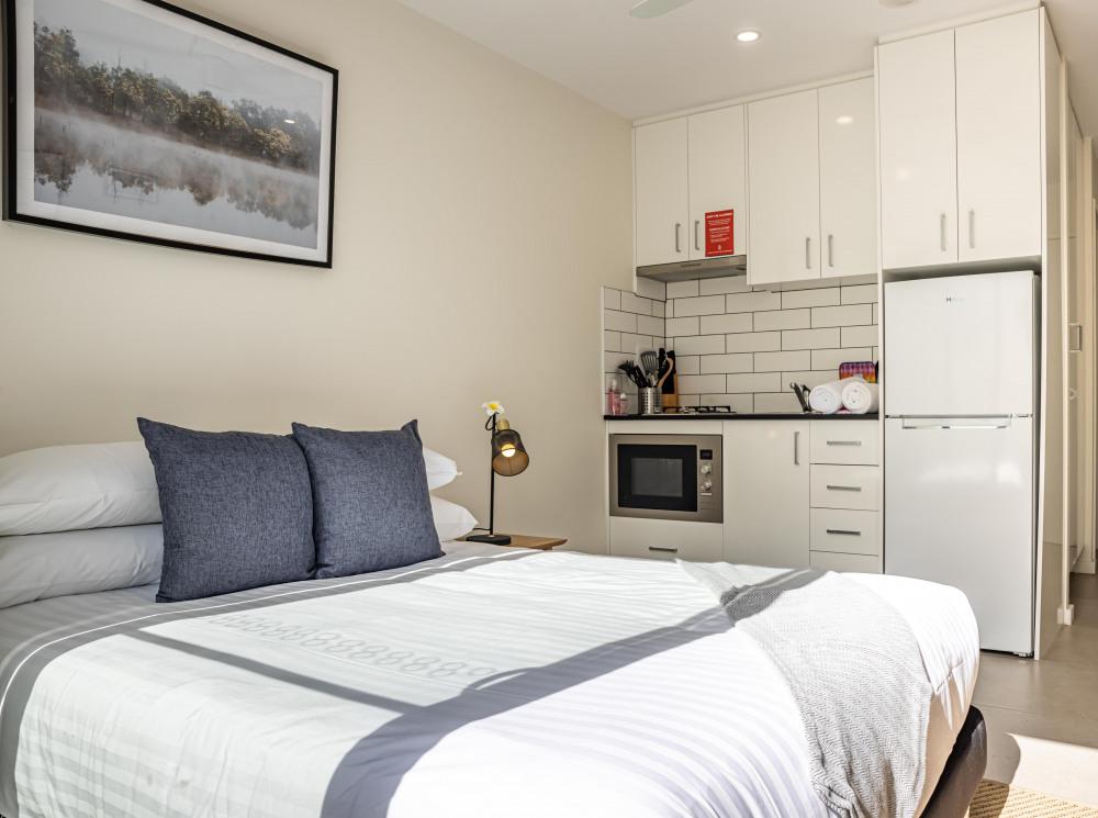 Master Bedroom/Kitchen