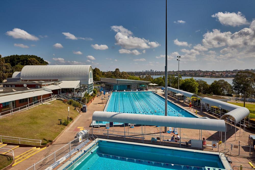 5 mins drive to Leichhardt Park Aquatic Centre