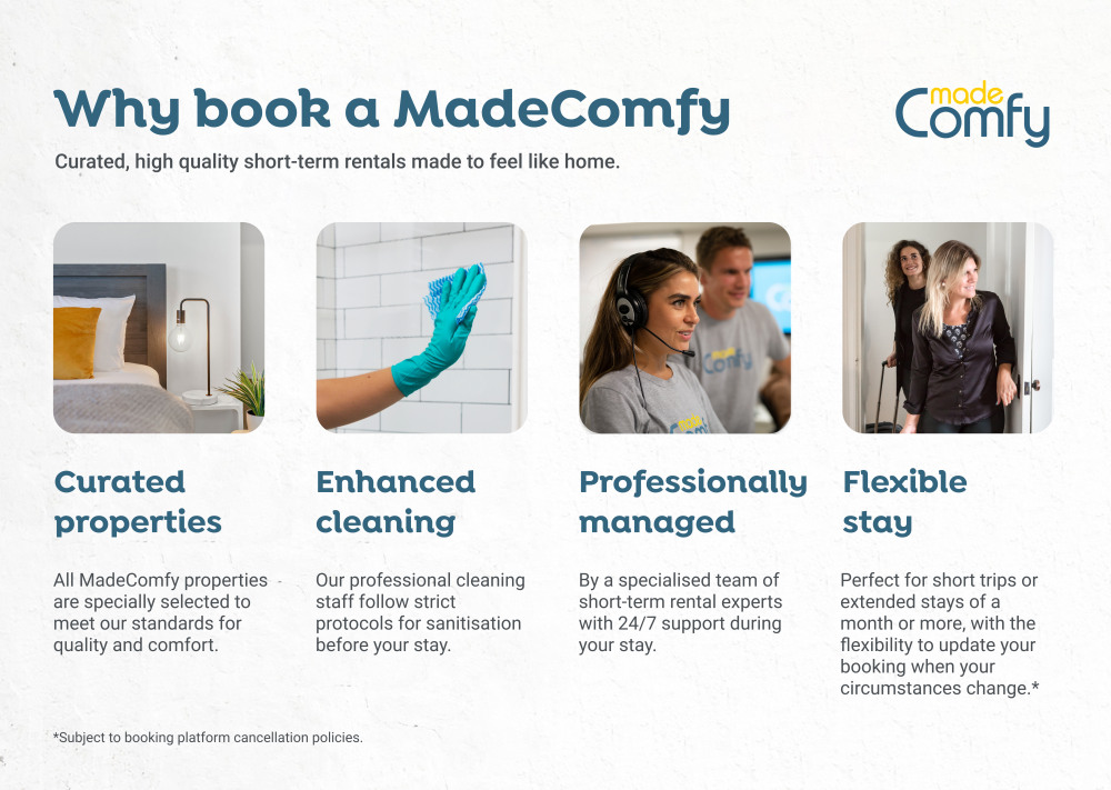 Why book a MadeComfy