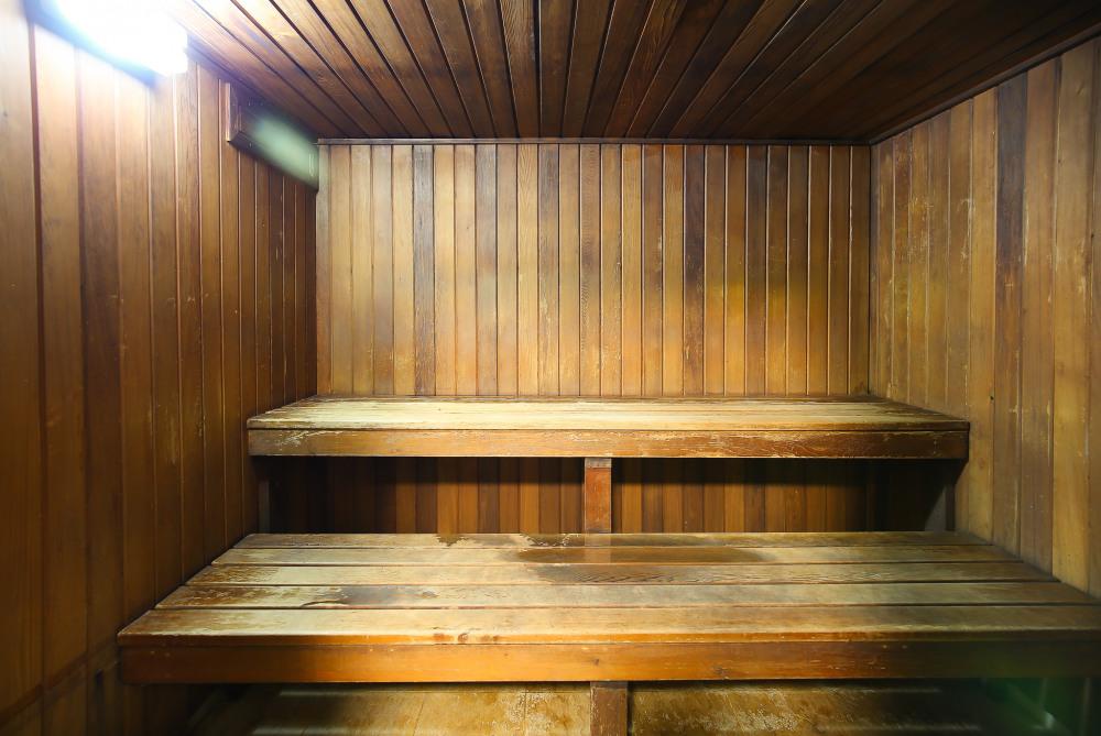 Includes complex sauna