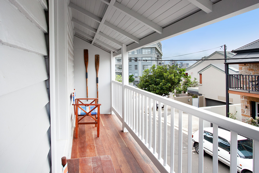 Balcony off Masted Bedroom