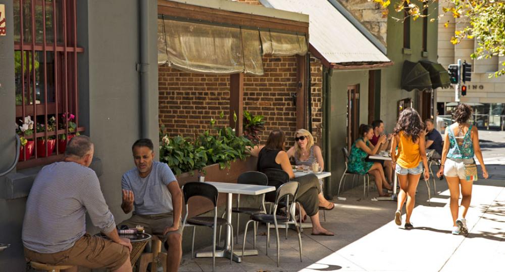 Restaurans in Pyrmont